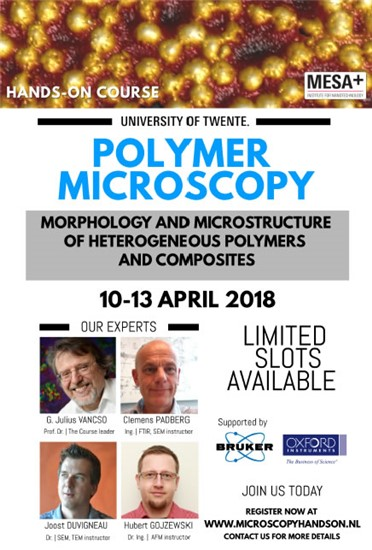 Download the flyer of the Polymer Microscopy Hands-on Course