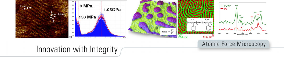 New dimensions in QNM for surface engineering  and IR nanospectroscopy  for bio-molecules footer